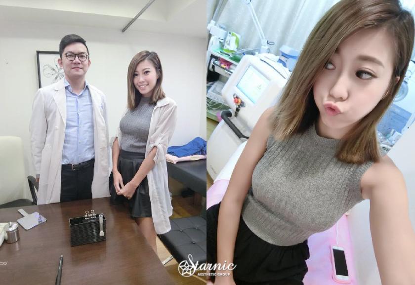 星和台北_鑽石冰雕_ Amis L. 艾蜜絲、Hi chia恰女孩02