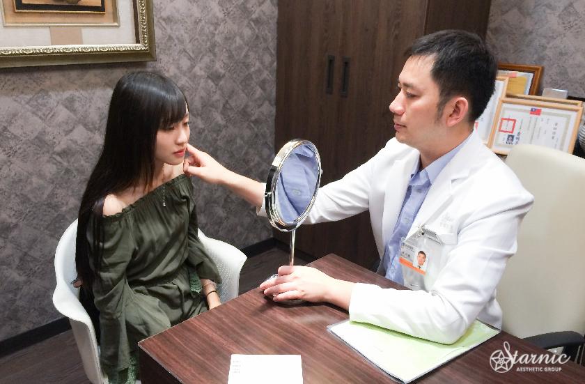 高雄醫美星和診所_肉毒桿菌瘦小臉_王思涵